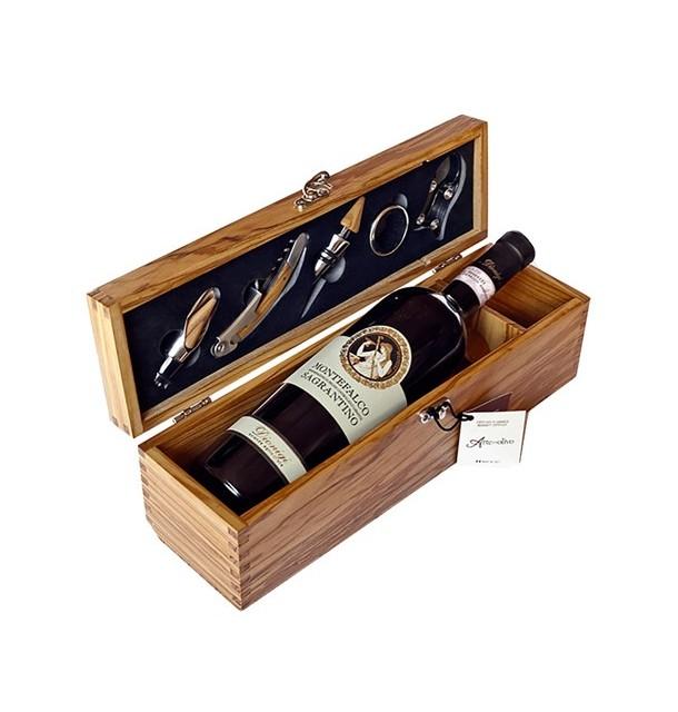 Wine box con accessori