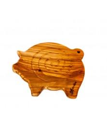 Sottopentola in legno di olivo Porcellino