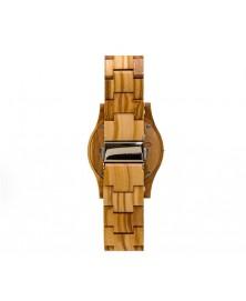 Orologio Donna in legno di olivo 100% italiano