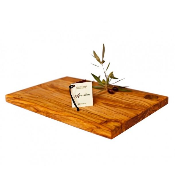 Tagliere rettangolare in legno di olivo